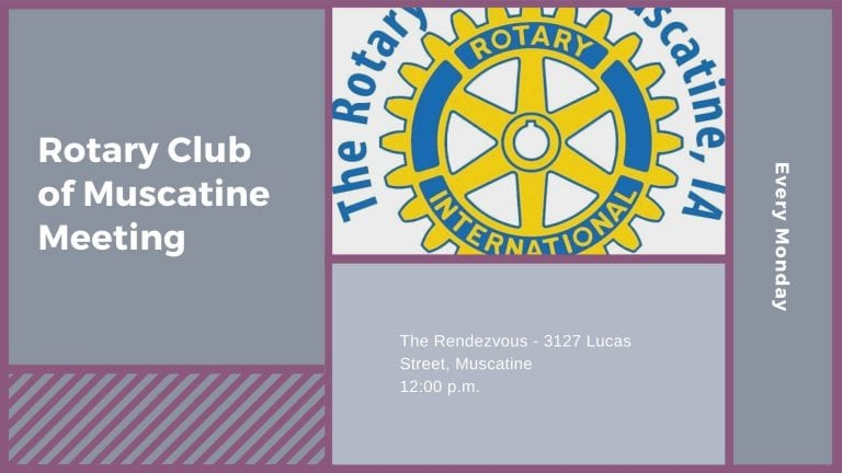 Rotary Club of Muscatine Meeting