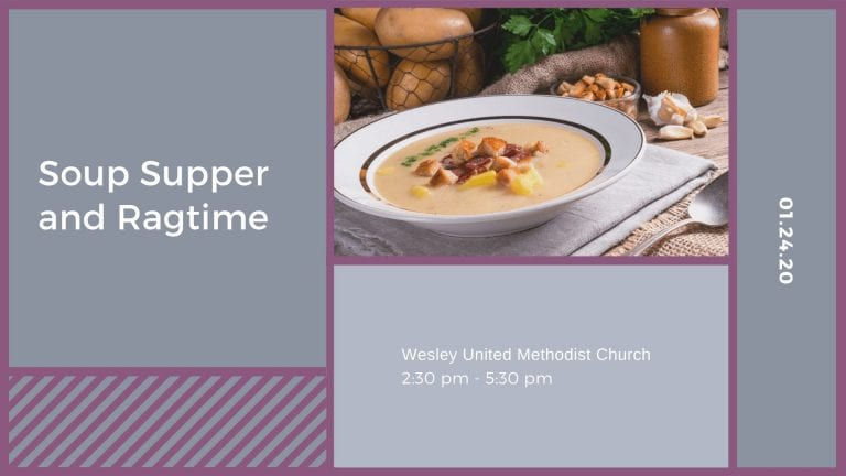 Soup Supper and Ragtime