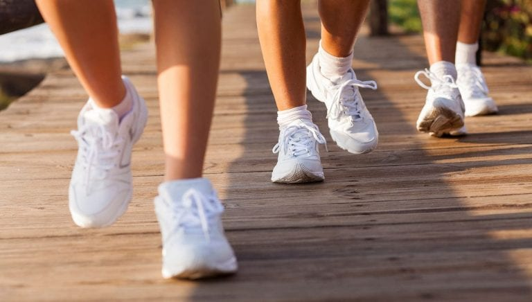 """""""Stepping into Spring"""" challenge for Muscatine Walking Club"""