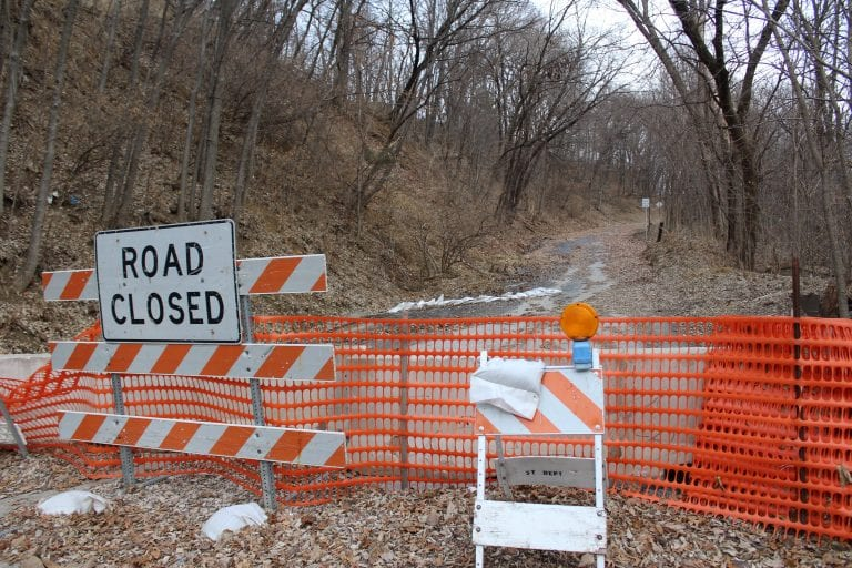 City will continue to monitor Miller's Hill for movement