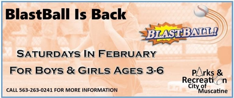 BlastBall is back this February for children ages 3-6