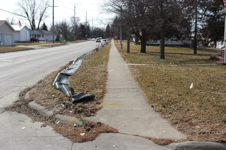 Lane restrictions return in March to North Houser Street