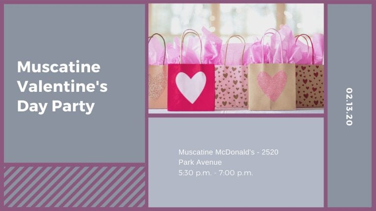 Muscatine Valentine's Day Party