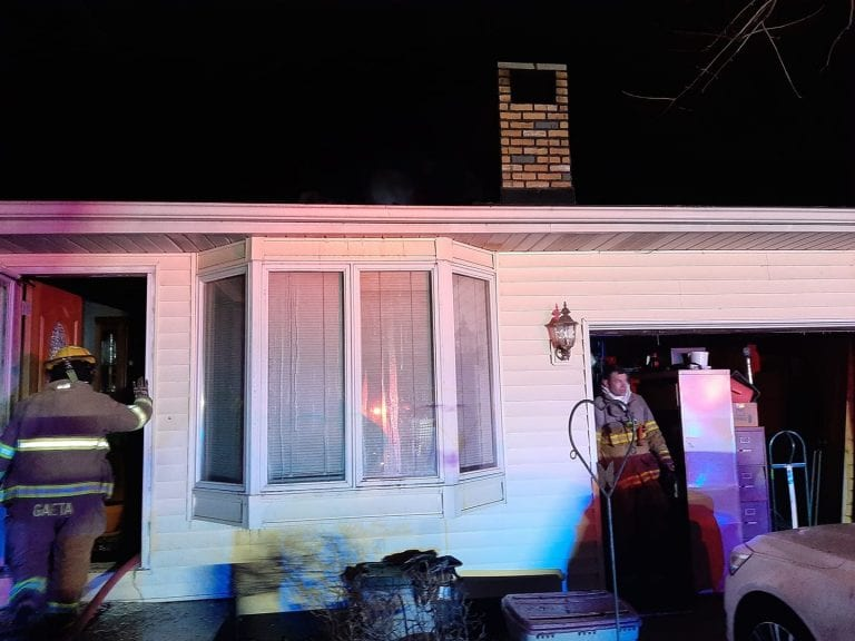 Residents, family pet uninjured in early morning house fire