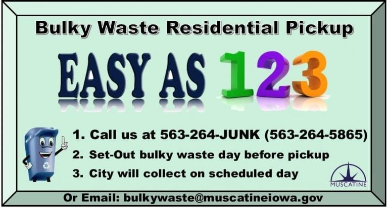 Curbside bulky waste collection program is implemented