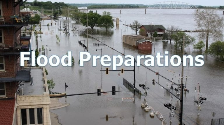 Flood Preparation: Making a plan & what to pack