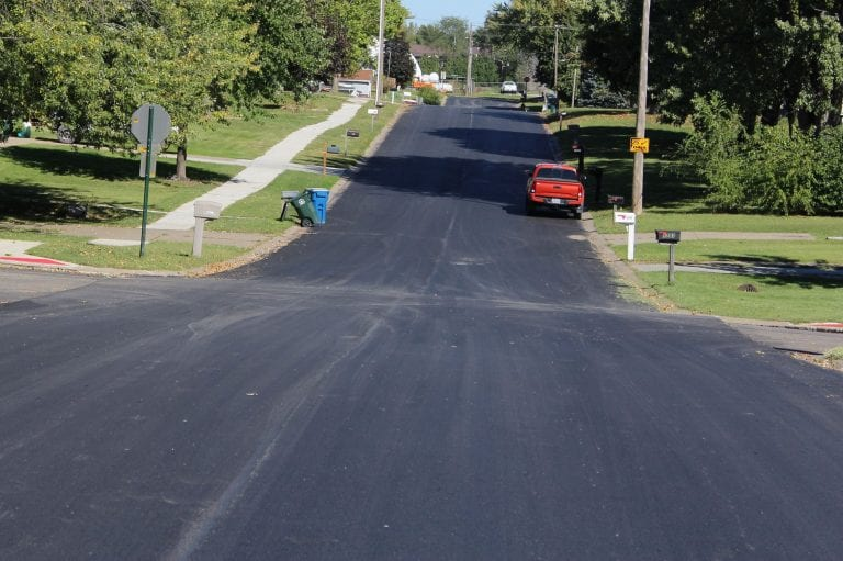 Six alley sections to receive asphalt overlay in next two weeks