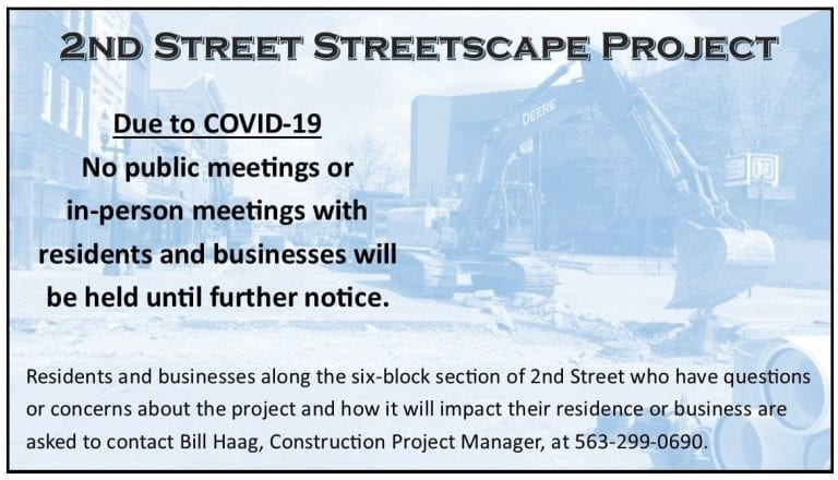 Weather does not slow down local construction projects