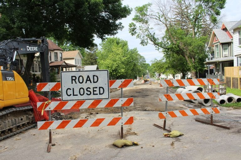 8th Street to be closed Cedar to Broadway starting May 11