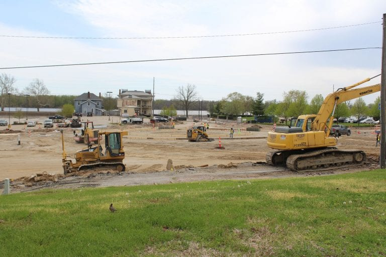 Lots of concrete to be poured on two projects starting May 4