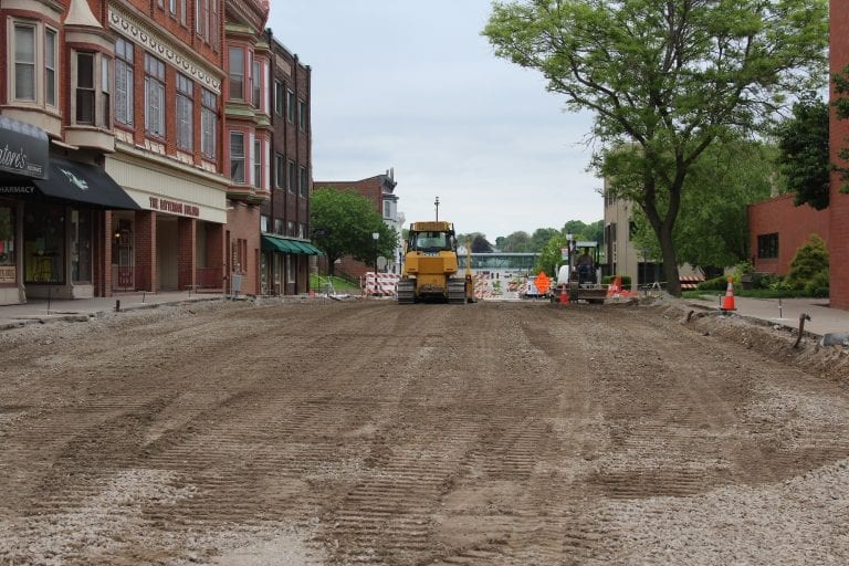 Three projects are on or ahead of schedule in Muscatine