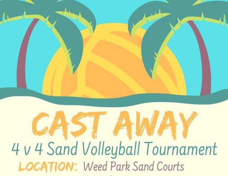 Cast Away themed volleyball tournament scheduled August 15