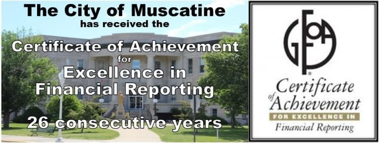 City receives finance reporting award for 26th straight year