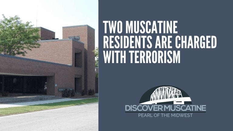 Two Muscatine residents are charged with terrorism