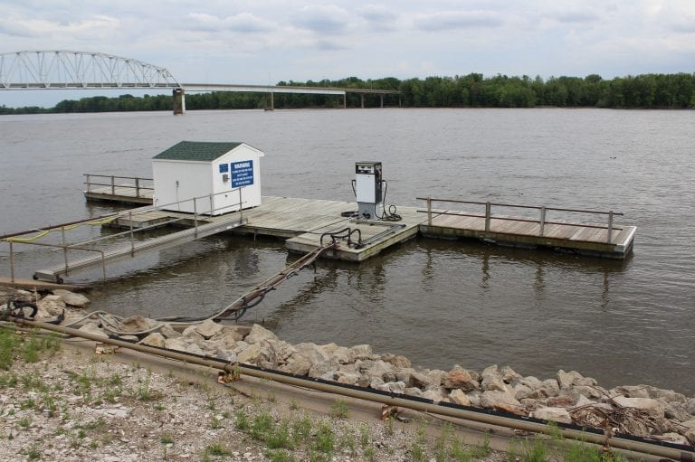 Riverfront gas dock closing for the season on September 7