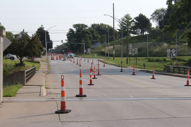 Lane restrictions in place as Park Avenue Project begins