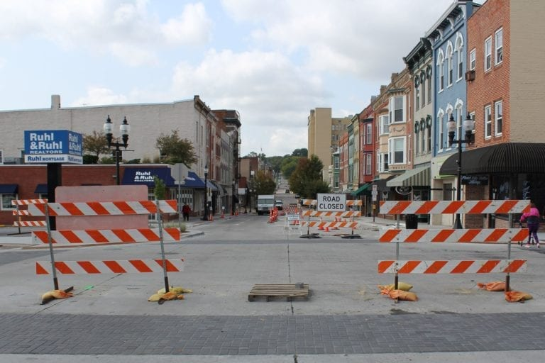 2nd Street scheduled to reopen for traffic, parking this weekend