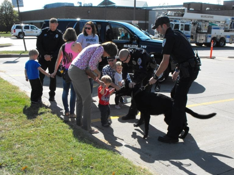 A message from the Muscatine Police on policing of the community