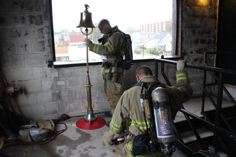 Muscatine Firefighters step up to the challenge