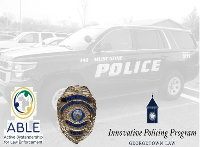 Muscatine Police selected for ABLE program national rollout