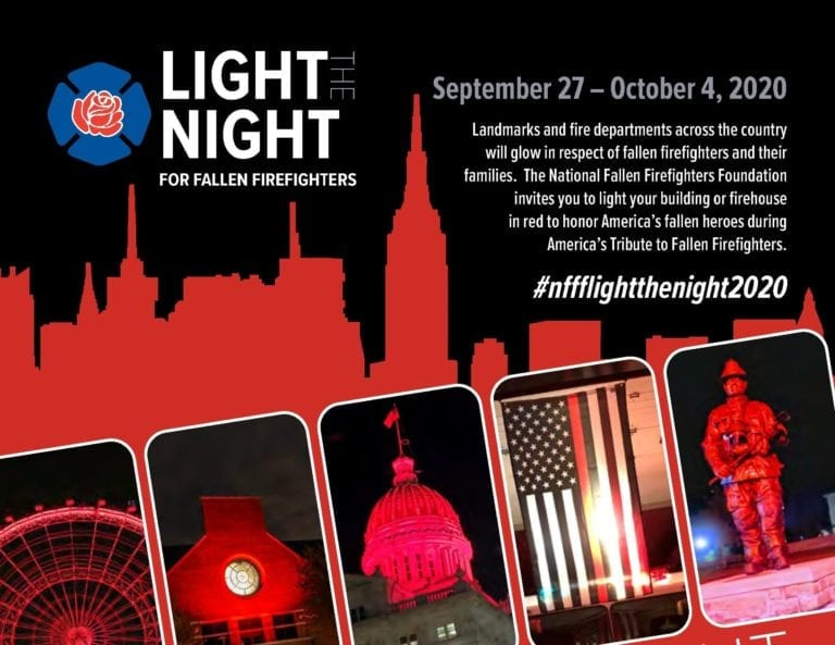 Light the night October 3 to honor fallen firefighters