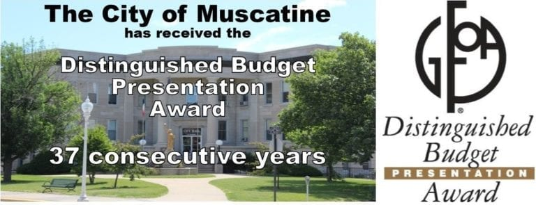 City recognized with 37th straight budget presentation award