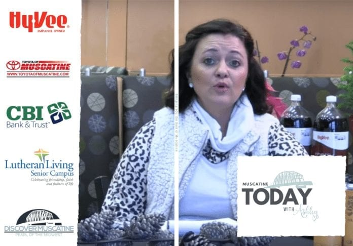 Muscatine Today with Ashley LIVE from Hy-Vee Market Grille Studios