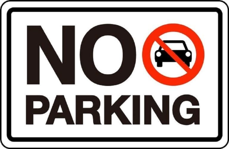 Parking restrictions for three blocks of West 8th December 16-18