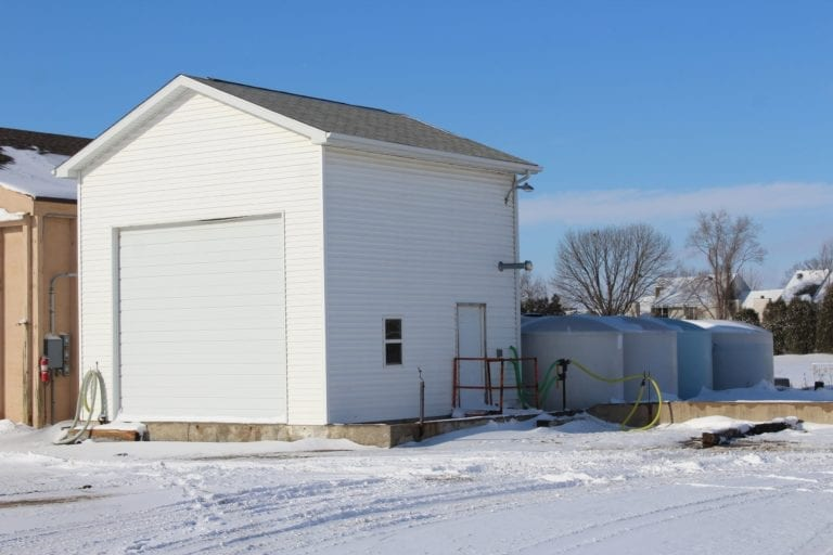 Brine makes a difference in snow removal operations