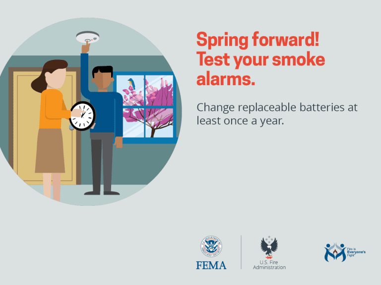 Time to spring forward; check CO and smoke detector batteries