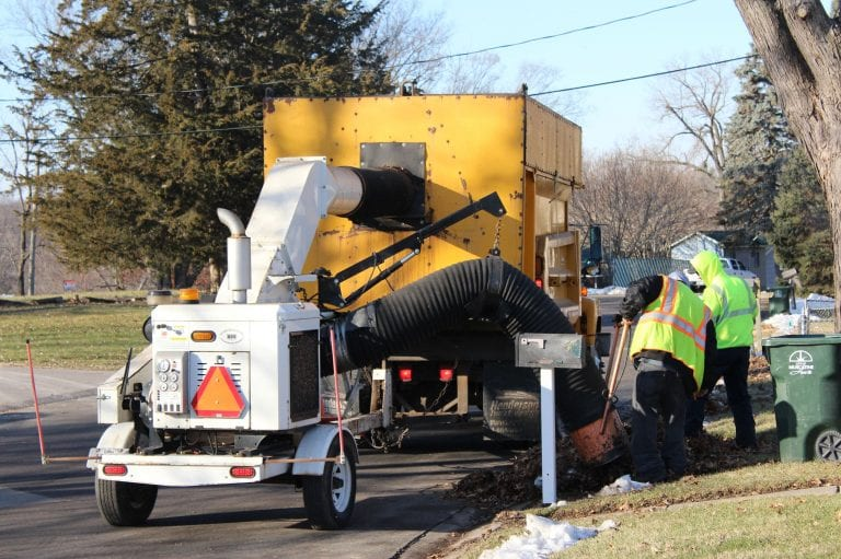 Spring Leaf Collection scheduled for April 12-23 in Muscatine