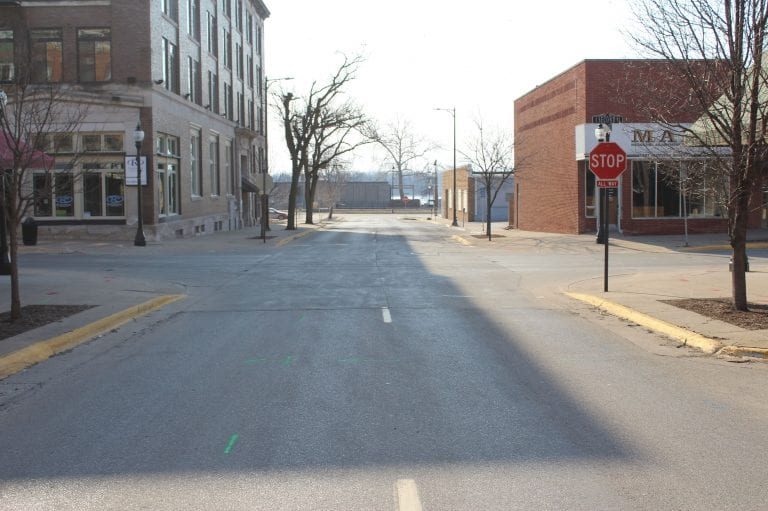 Work on 2nd Street Streetscape Project set to resume March 15