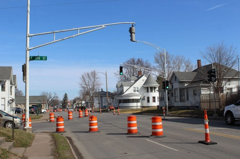 Change to 5th Street and Park Avenue intersection starts March 19