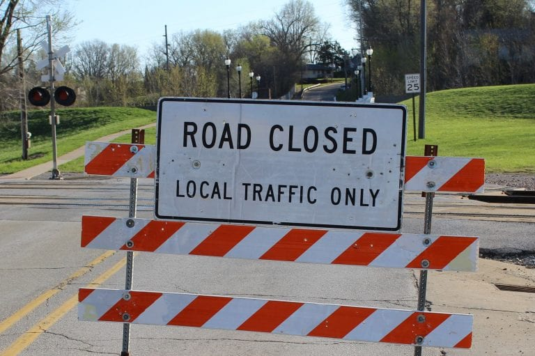 East 5th Street closure continued through April 19