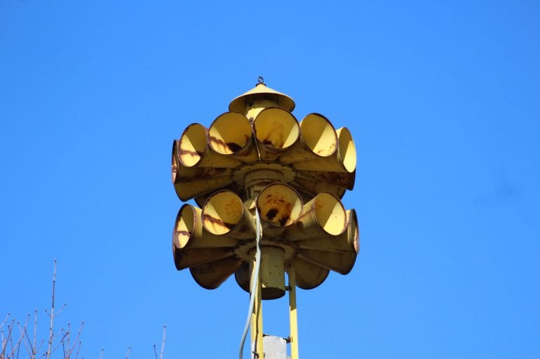 Monthly outdoor siren tests set to begin on April 5