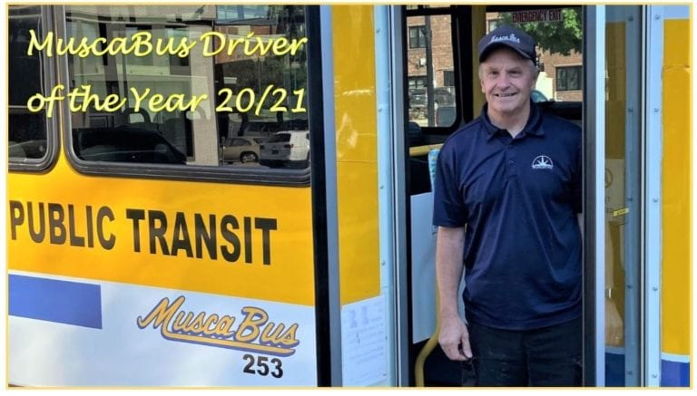 Bottoms recognized by IPTA as MuscaBus Driver of the Year