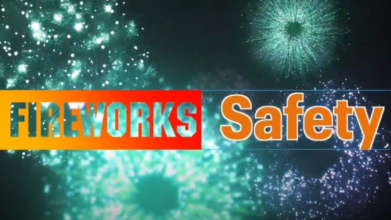 Fire Marshal provides advice on fireworks safety in video message