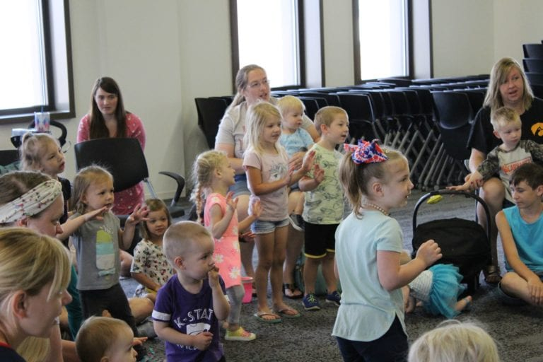 In-person sessions extend reach of Library children's programs