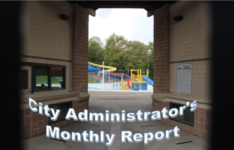 Interesting facts revealed in monthly City Administrators report