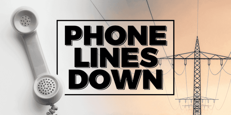 Phone system offline at City Hall, other City buildings