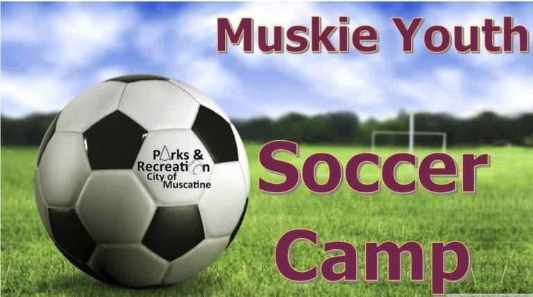 Players can build their skills at the Muskie Youth Soccer Camp