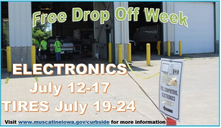 Coming Soon! Free drop off week at Transfer Station