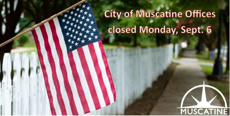 City offices closed Monday (Sept. 6); service changes announced