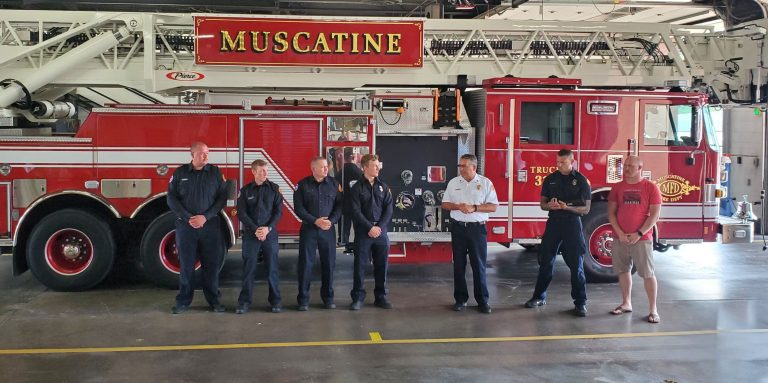 Four new firefighters on the job after completing Fire Academy