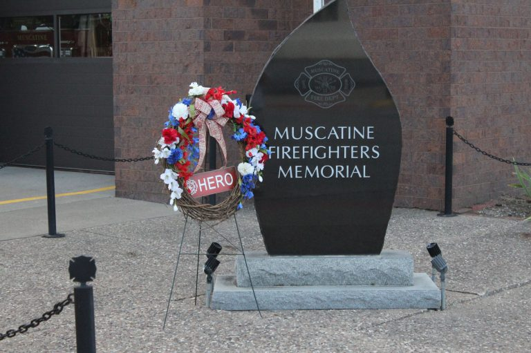 Muscatine firefighters to pause, remember one of their own