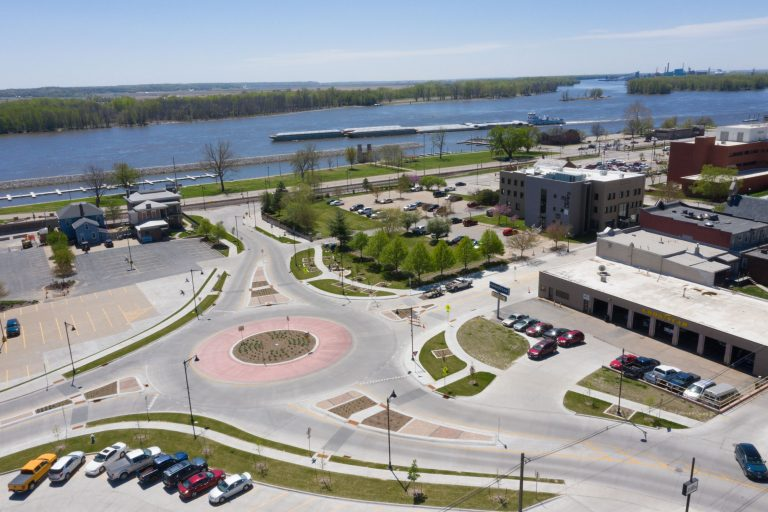 Mulberry Roundabout design is recognized by ACEC