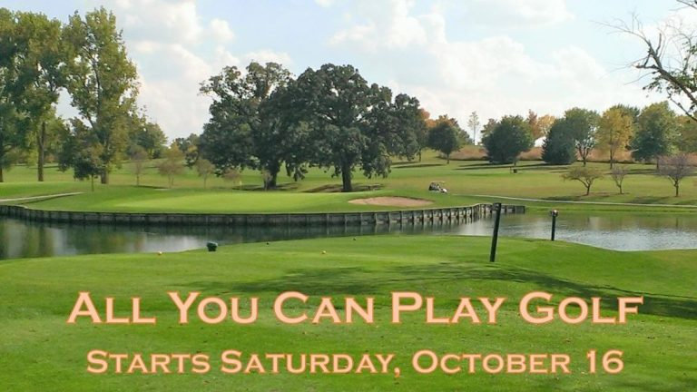 """""""All You Can Play"""" golf special returns to Municipal Golf Course"""