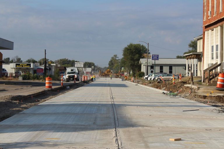 Detour closed as paving continues on Grandview Avenue Oct. 15